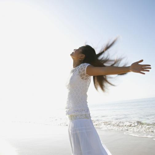 woman set free